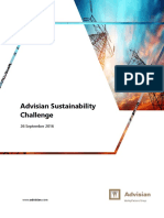 Advisian Sustainability Challenge