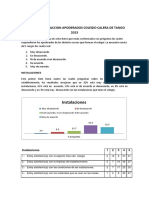 Resultados Encuesta 2013 Colegio Calera