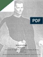 MAQUIAVEL, Nicolau. O Príncipe