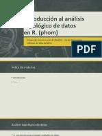 Introducción Al Análisis Topológico de Datos