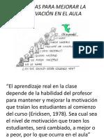 TECNICAS PARA MEJORAR LA MOTIVACIÓN EN EL AULA.pptx