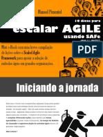 10 Dicas Escalar Agile Usando SAFe ManoelPimentel
