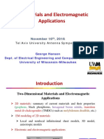 2D Materials and Electromagnetic Applications
