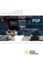 MBA + Estancia Internacional Madrid