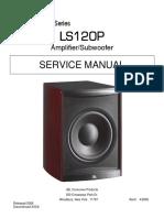 Jbl Ls120p Amplifier Subwoofer Sm