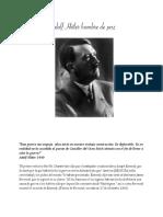 Adolf h Hombre de Paz