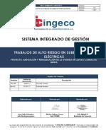 Procedimiento de Trabajos de Alto Riesgo en Subestaciones - Rev01