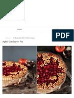Apfel Cranberry Pie _ Puhlskitchen
