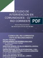 e Studio i Nterv Cuenca Rio Corrientes