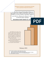 Impact Evaluation of DepEd School Feeding Program