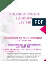 PROCEDIMIENTO SIMPLIFICADO Ley 348