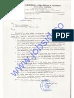 Info Lowongan CPNS Kementerian Agama (Kemenag) Tahun 2017