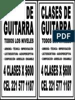 Clases de Guitarra Fluo La Plata