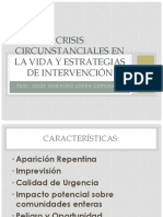 Crisis Circunstanciales y Estrategias de Intervención