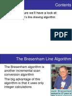 Lecture 4 Scan Conversion Bresenhams Algorithm