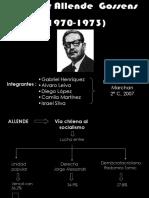 Unidad Popular(Gobierno de Allende)