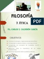 7. ÉTICA