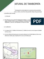 Reserva natural de Tambopata.doc