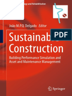 Sustainable Construction Building Performance Simulation and Asset and Maintenance Management(PDF)