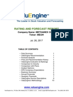 Research Report Value Engine