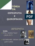 Aula 8 - História Da Osteopatia Quiropraxia