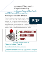 Control in Management.docx