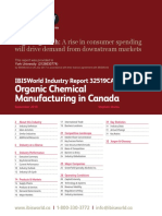 32519CA Organic Chemical Manufacturing in Canada Industry Report
