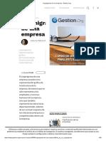 Organigrama de Una Empresa - Gestion