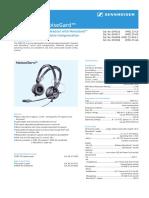 Sennheiser HMEC25 DS