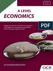 As a Level Economics Summary Brochure