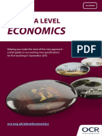 As a Level Economics Summary Brochure