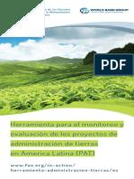 Herramienta Para El Monitoreo y Evaluación FAO