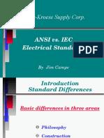 Comparacion ANSI vs IEC
