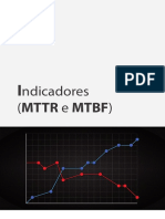 eBook Indicadores Mttr e Mtbf
