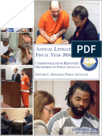 Kentucky Department Of Public Advocacy Annual Report
