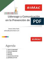 5. Liderazgo y Comunicación en La Prevención de Riesgos