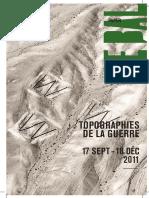 - Topographies de La Guerre