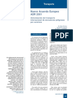 393-075 Nuevo Acuerdo Europeo ADR 2001
