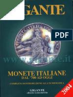 Catalogo Gigante - Monete Italiane Dal 700 Ad Oggi (12 Edizione-2004)Ottim