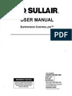 02250146-049 R01 Sullair User Manual Supervisor Controller