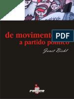 De Movimento a Partido Político.pdf