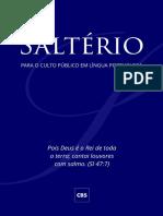 Salterio - CBS - Comissao Brasileira Dos Salmos (1)