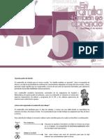 Español y Matemáticas. Cuadernillo de Trabajo. Quinto Grado