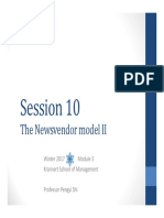 13 Newsvendor II