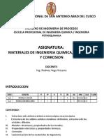 Materiales de Iq A