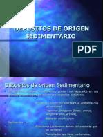 DEPOSITOS  Sedimentarios