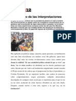 El Conflicto de Las Interpretaciones 2007