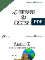 Optimización de Sistemas II