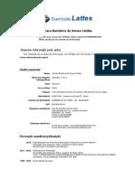 Curriculo Lattes (Cimara Bandeira)