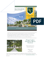Keuka College Community Connection - Summer Edition